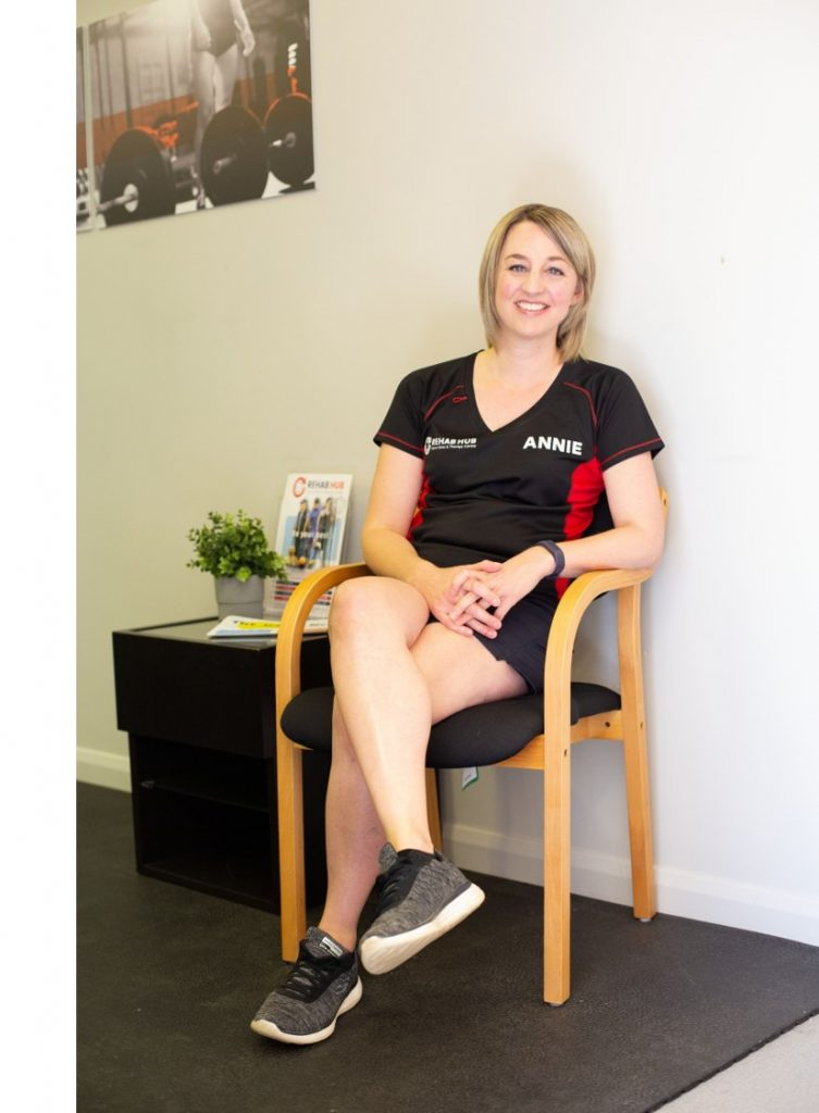 annie head the physiotherapist