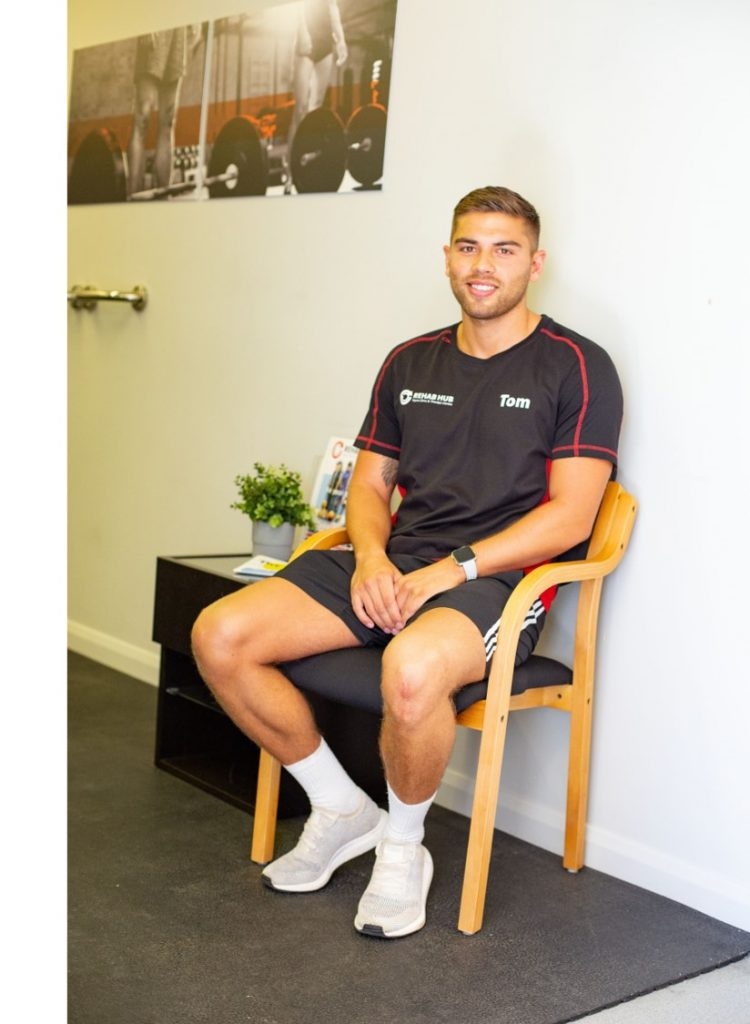 tom mitchell sports therapist and sports nutritionist