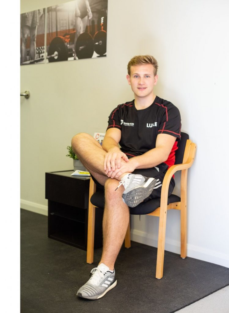 luke denham sports therapist