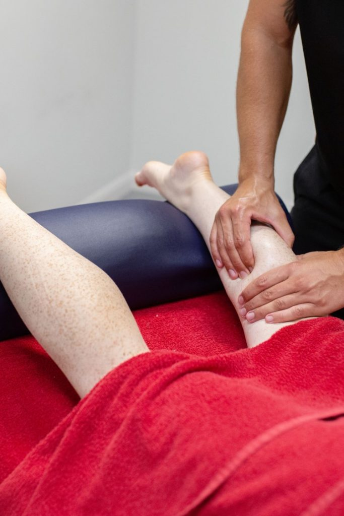sports massage for legs in biggleswade