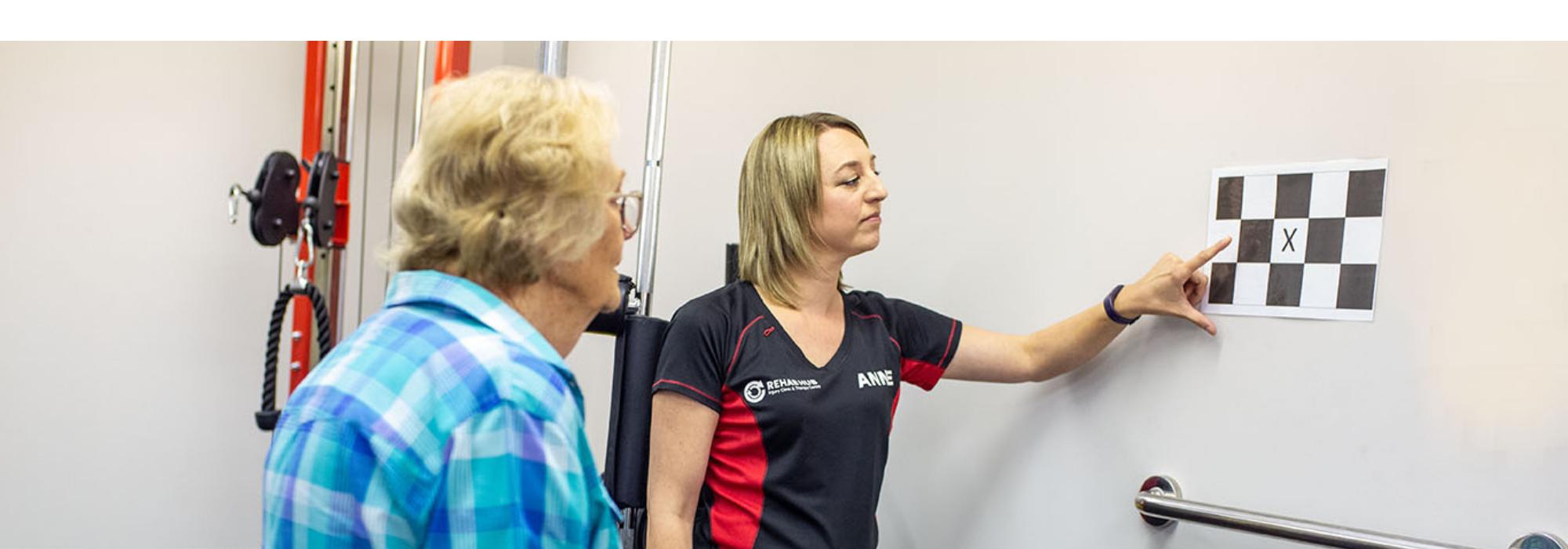 vestibular assessment with physio